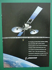 9/2007 PUB BOEING TRACKING AND DATA RELAY SATELLITES TDRS SPACE NASA ORIGINAL AD