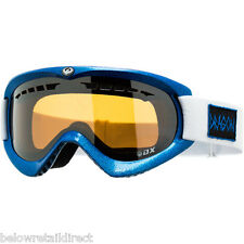 DRAGON ALLIANCE DX SNOW SKI GOGGLE HOG WILD BLUE / IONIZED 722-1682 NEW IN BOX
