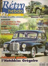 RETRO HEBDO 16 HOTCHKISS GREGOIRE DEPANNEUSE WRECKER DIAMOND T 969 LE MANS 1967