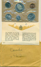 1967 CANADA PROOFLIKE MINT SET AS ISSUED, GREAT PRICE!
