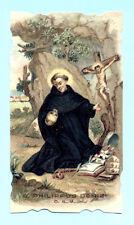 SANTINO ANTICO  CROMO S.FILIPPO BENIZI  IMAGE PIEUSE - HOLY CARD SANTINI