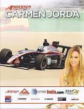 2010 INDY LIGHTS CARMEN JORDA Hero Card