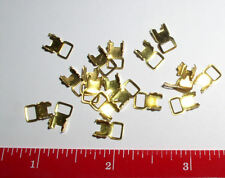 50 Pc Chain Crimp Ends With Square End Fits 3mm Chain-Brass