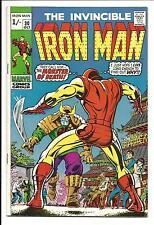IRON MAN # 30 (MONSTER MASTER APPEARANCE, OCT 1970), VF