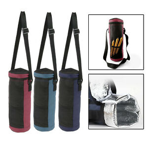 Wine Cooler Bag Travel Foil Lining Insulated Tote Beverage Cooler Carrier
