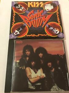 KISS CREATURES OF THE NIGHT 1982 MERCURY POLYGRAM Rare Cover Germany +BONUS CD