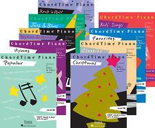 Faber Piano Adventures ChordTime (Level 2B) - Set of Nine Supplementary Books