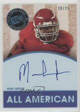 2011 Press Pass Legends All American Blue /25 Mark Ingram #AA-MI Auto