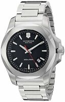 Victorinox Swiss Army Black Dial Stainless Steel Quartz Men's Watch 241723.1