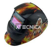 Maschera lcd autoscurante Atecnica MEGA600F per saldatura elettrodo MIG MAG TIG