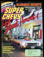 Super Chevy Magazine September 1989 Monte Carlo Camaro EX w/ML 031417nonjhe