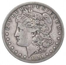 1891-CC Morgan Silver Dollar *2547