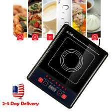 Usa Stock Digital Electric Induction Cooktop Countertop Burner Cooker 2000W