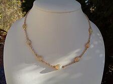 Halskette mit Opal, 585 Gold Filled