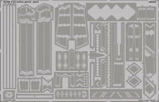 Eduard Models Photoetch for 1/48 F-22 Surface Panels for Academy kit