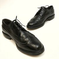 ✅❤️✅@ Vintage O'Sullivan Executive Imperial Wing Tips Men Shoe 10EE Dress Oxford