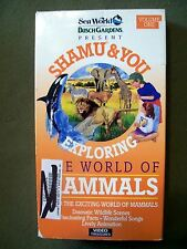 Shamu and You - Volume 1 - Exploring the World of Mammals (Vhs, 1992)