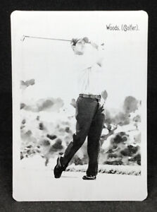 2009 UD Goodwin Champions Tiger Woods 1/1 Printing Plate #65