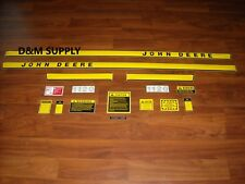 John Deere 1120 tractor decal set with caution set