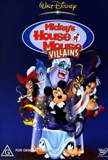 Mickey's House of Mouse Villains * NEW DVD * (Region 4 Australia)