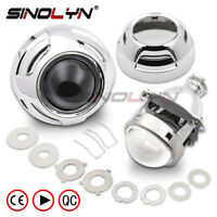 Car Xenon HID Projector Super Metal 3.0'' H1 Bi-xenon Headlight Lens Fits H4 H7