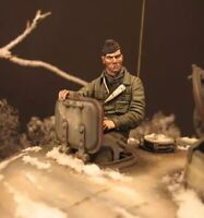 1/16 Resin Figure Model Kit German Soldier Tank Crews no Tank WWII Unpainted