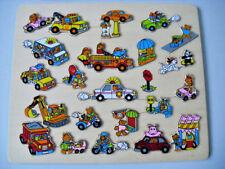 Holz Puzzle Sammlung 9 Stück Legespiel Holzspielzeug Tiere Märchen