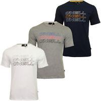 O'Neill Mens 'Triple Logo' Short Sleeved T-Shirt