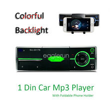 Car Bluetooth In-dash Radio Stereo Audio Head Unit Player With iPhone Holder