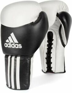 adidas Boxing Leather PRO Lace Gloves - BC05