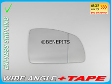 OPEL Meriva A 2002-2009 Wing Mirror Glass Wide Angle + TAPE Right Side #F023