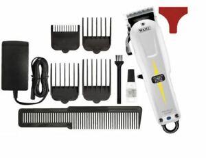 Wahl Haarschneidemaschine Cordless Super Taper weiß/schwarz