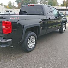 FENDER FLARES 4 Pieces For: SILVERADO 1500 6.5 and 8 Ft BEDS 2014-2018