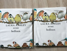 2 Laura Ashley Garden Birds Pillowcases BNWT