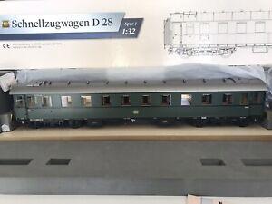 KM1 D28 Passenger Car 202850 Gauge 1 Boxed For Märklin Kiss