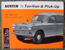 AUSTIN 1/2 TON VAN & PICK UP SALES BROCHURE CIRCA 1963 REF- 2148/C