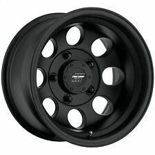 Pro Comp 69 Series Vintage, 15x10 Wheel with 5 on 4.5 Bolt Pattern - Matte Black