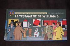 Blake et Mortimer Le testament de William S. format Strips Italienne Juillard