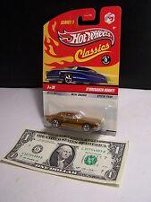 Hot Wheels Classics Gold Studebaker Avanti #3 Series 5 M/M Spectraflame - 2009