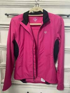 Pearl Izumi Elite Cycling Jacket Medium New Without Tags Pink Fleece Lined