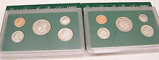 1995  US Mint  5 PC Clad Coin Proof Set Lot of 2