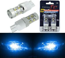 LED Light 50W 7444 Blue 10000K Two Bulbs Front Turn Signal Replace Upgrade Show