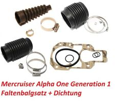 Service-Kit Z-Antrieb Faltenbalgsatz Mercruiser Alpha One inkl. Anbaudichtung