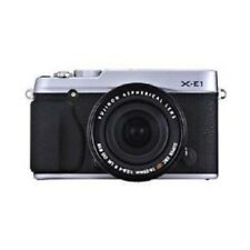 USED Fujifilm X-E1 with XF 18-55mm f/2.8-4 Silver Excellent FREE SHIPPING