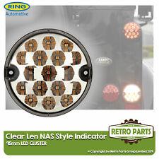 95mm Ámbar LED Claro Indicador Lámpara Luz Mejora Land Rover 90 110 Defensor Nas