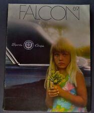 1969 Ford Falcon Brochure Futura Club Sports Coupe Wagon Excellent Original 69
