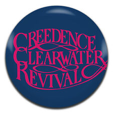 Creedence Clearwater Revival Band Blues Rock 25mm / 1 Inch D Pin Button Badge