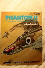 F-4 Phantom II, A Pictorial History Squadron Signal 6010 Very Good Condition