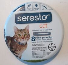 Bayer Seresto Flea & Tick Collar for Cat all Weight and 8 Month Protection