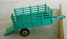 Vintage Husky Models Diecast Mini Farm Trailer Made in Britain Opening Tail Gate